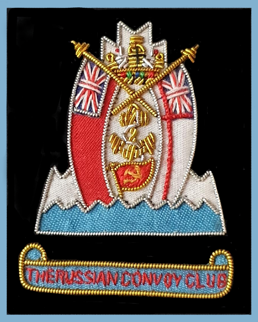 204a Russian Convoys blazer badge