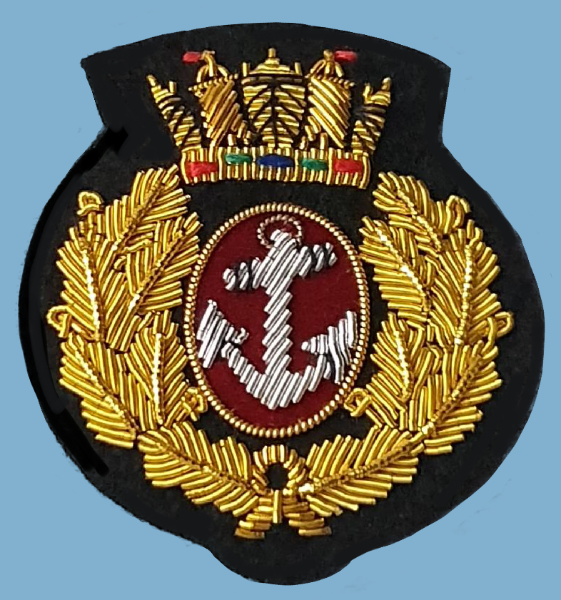 206a MN officers beret badge