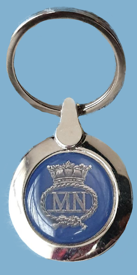 523a MN stainless steel keyring
